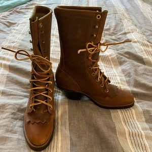 Never worn Justin Roper Boots